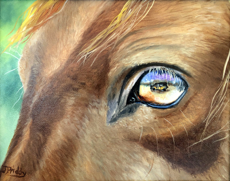 Wild Horse Adventure Tours - Art by Jan Priddy